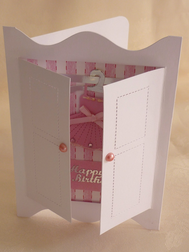Different Ideas Of Making Cards Part - 50: Our New Little Wardrobe Card Kits Make It Easy To Make A Personalised Card.  Just Dress Up The Basic Template To Suit The Person. Some Decorating Ideas  Might ...