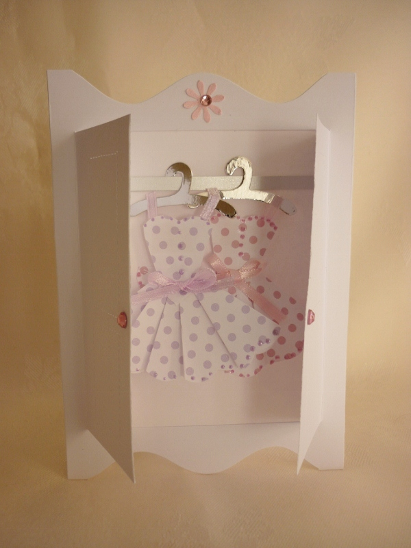 Making Mini Dresses and clothes for cardmaking and papercraft ...