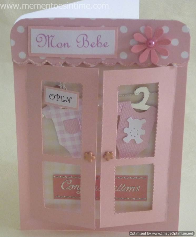 Baby Girl Card Making Ideas Part - 41: Mementoes In Time