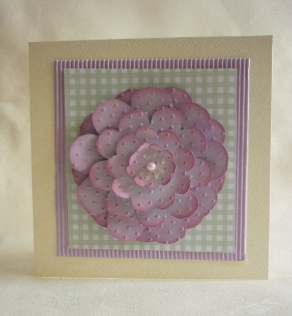 Flower Template 4 - Pretty in Pink