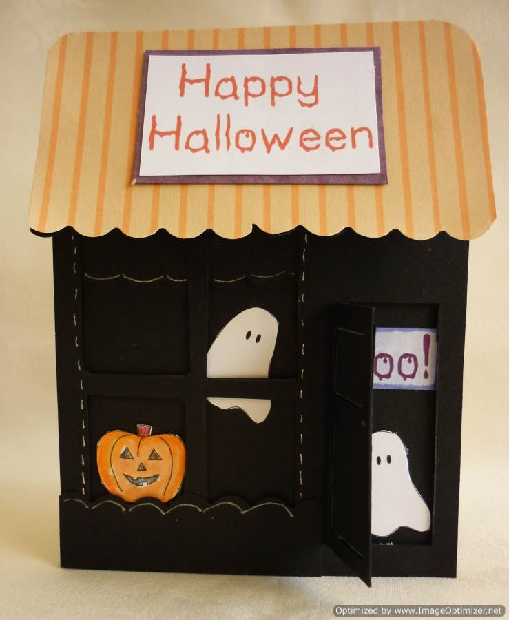 Halloween Card Making Ideas Part - 45: Happy Halloween