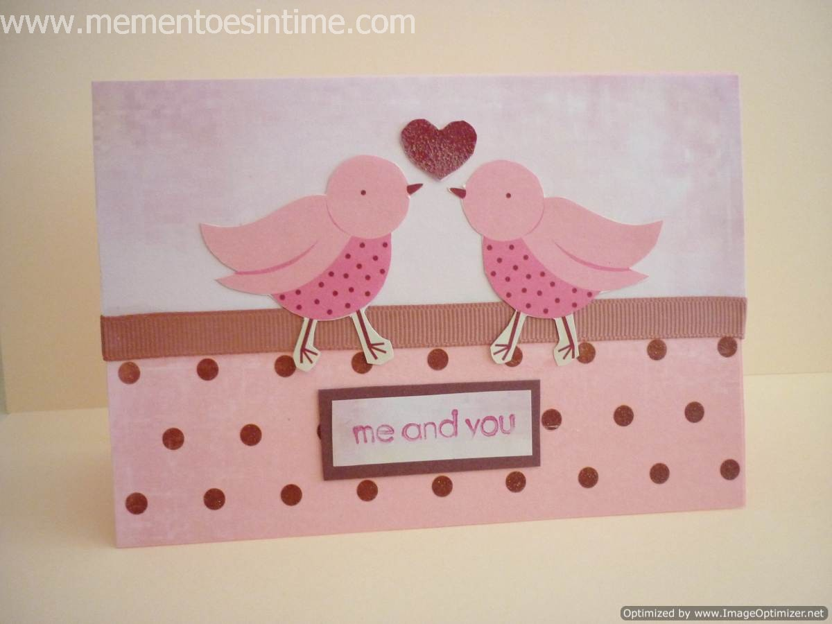 Love Card Making Ideas Part - 21: Love Birds