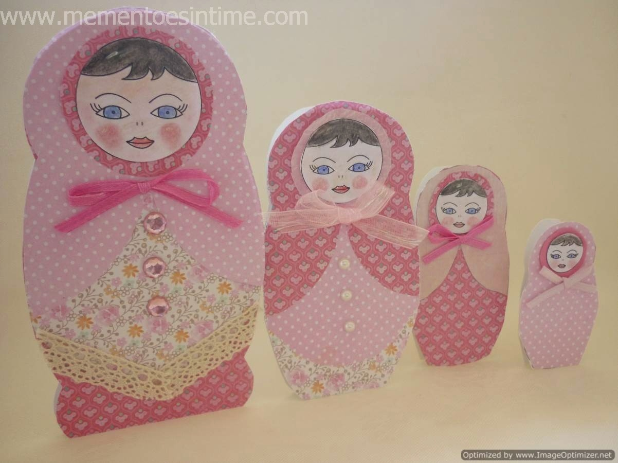 Russian Dolls Template