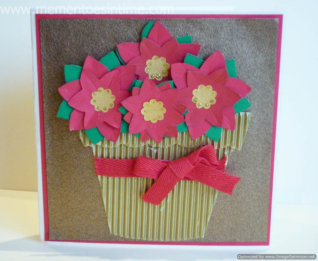 flower card making ideas